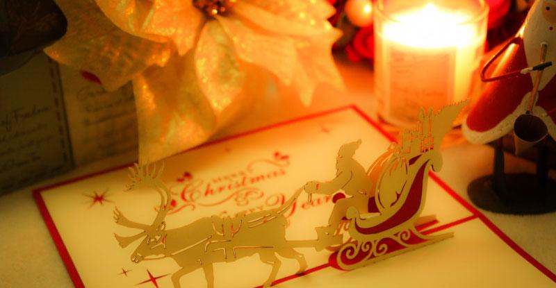 もうすぐクリスマス|今年は誰に「メリークリスマス」を言いますか?