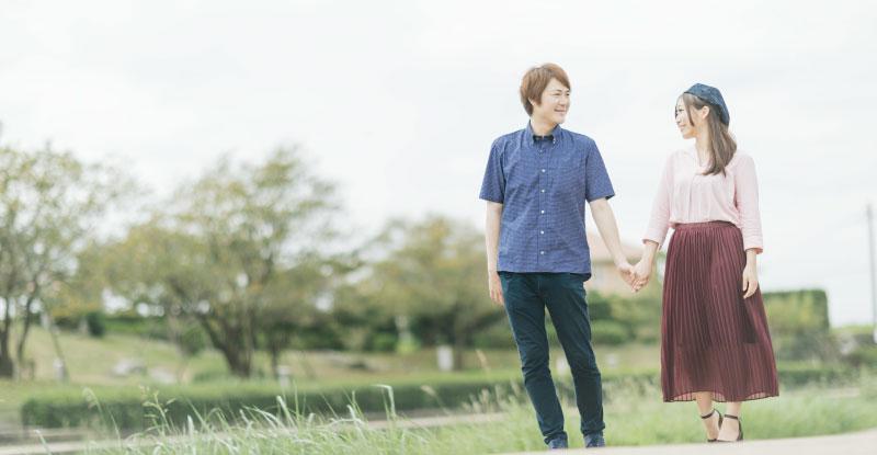 微笑ましいカップル