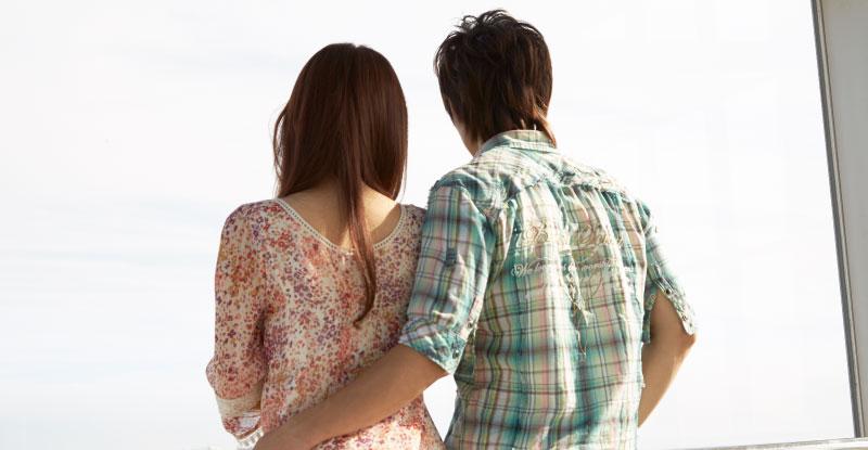 だんだん距離が縮んで親しくなってきたカップル